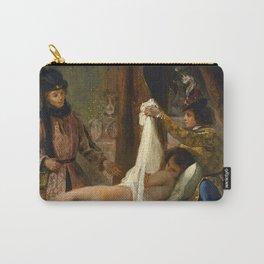 """Eugène Delacroix """"Louis of Orléans Unveiling his Mistress"""" Carry-All Pouch"""