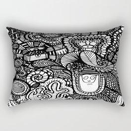 Under the Sea Doodle Rectangular Pillow