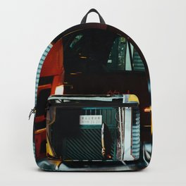 Taxicab Driver (Color) Backpack