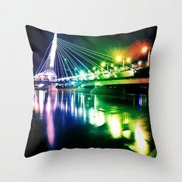 Provencher Bridge Throw Pillow