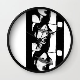 Rooney in 16mm Wall Clock