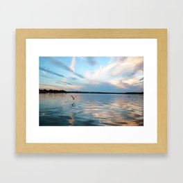 Glassy Framed Art Print