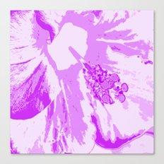 Intimate Purple Canvas Print
