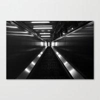 metallic Canvas Prints featuring Metallic by Charlotte Bébin