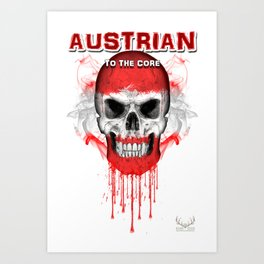To The Core Collection: Austria Art Print