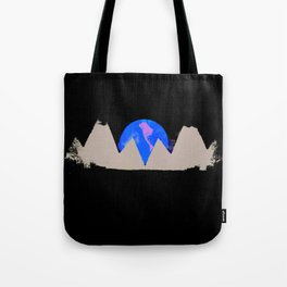 White Peak Tote Bag