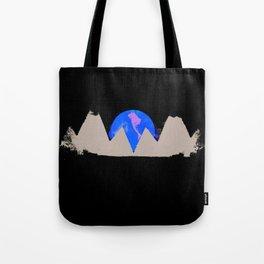 White Peak Tote Bag