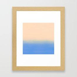 Sand & Sky Framed Art Print