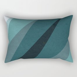 Six Shades of Sea Rectangular Pillow