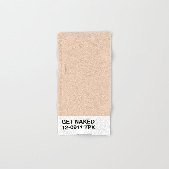 get naked Hand & Bath Towel