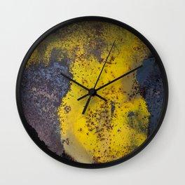 Abstract  metallic Wall Clock