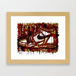 Air Experiment Framed Art Print