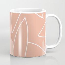 abstract tropical leaves Coffee Mug
