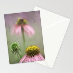 Pink Coneflower Stationery Cards