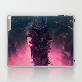 The Technocore / 3D render of futuristic structure Laptop & iPad Skin