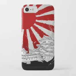 Japanese Palace and Sun iPhone Case