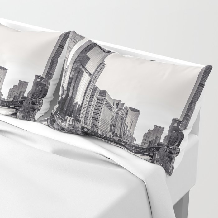 Silver River Pillow Sham