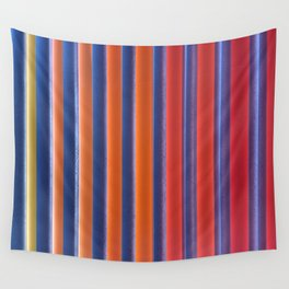 Hot & Cold Stripes Wall Tapestry