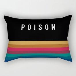 Poison Rainbow Rectangular Pillow