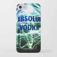 vodka iPhone & iPod Cases featuring Absolut Vodka by Rothko