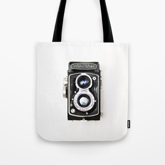 Yashica Retro Vintage Camera Tote Bag