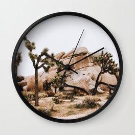 Joshua Tree II / California Desert Wall Clock