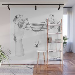 The Tangled Web We Weave Wall Mural