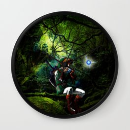 legend of zelda link Wall Clock