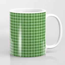 PLAID Green Plaid Coffee Mug