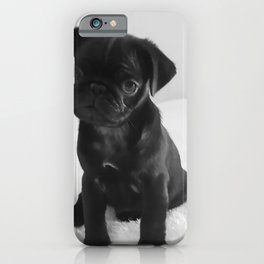 Pug Mitxiru iPhone Case