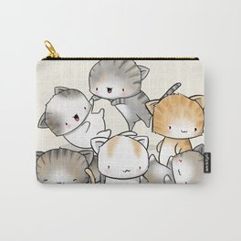 Cute Kitty Doodle Carry-All Pouch