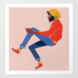 primaries Art Print