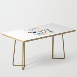 Rainbow Libraries Are For Everyone Coffee Table