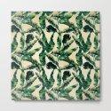 Banana Leaf Pattern Linen by followmeinstead