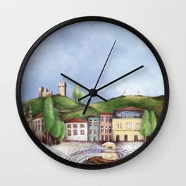 Vila Real landscape Wall Clock