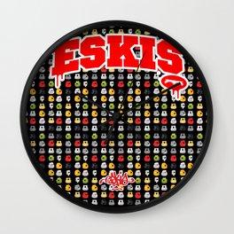 EskisCaps Wall Clock