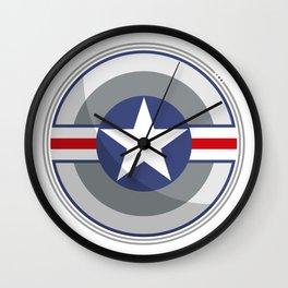 A Fictitious Shield Wall Clock