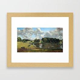 John Constable Wivenhoe Park, Essex Framed Art Print