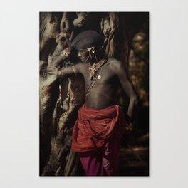 Samburu tree Canvas Print