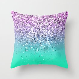 Spark Variations III Throw Pillow