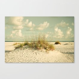Tropical Beach Vibes Canvas Print