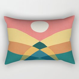 Rolling hills Rectangular Pillow
