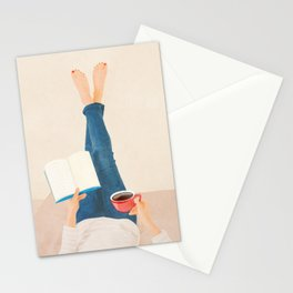 Morning Read Stationery Cards