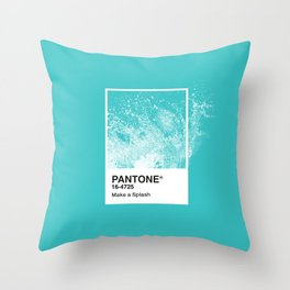 PANTONE SERIES – SPLASH Throw Pillow