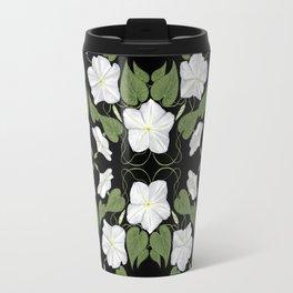 Moonflowers Travel Mug