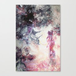 Hades and Persephone: First encounter Canvas Print