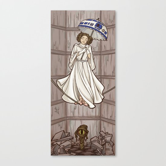 Leia's Corruptible Mortal State Canvas Print