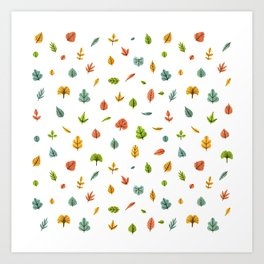 Autumn is coming Art Print