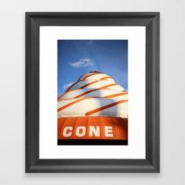 The Cone Framed Art Print