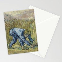 Vincent van Gogh - The Reaper (after Millet) Stationery Cards